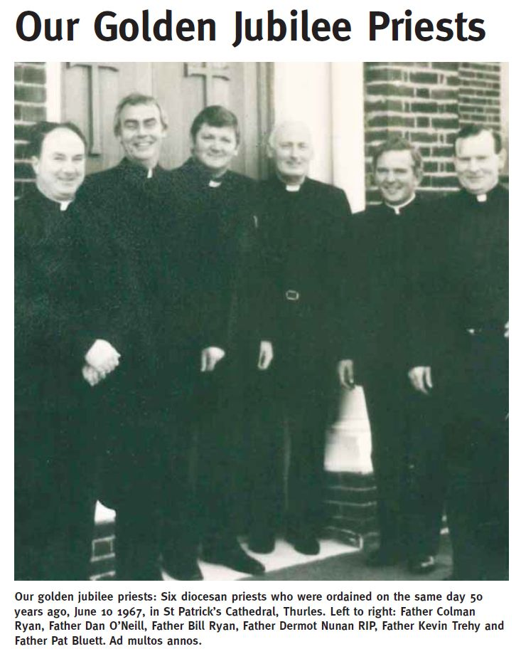 Our Golden Diocesan Priests